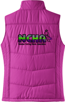 NCHA Ladies Puffy Vest